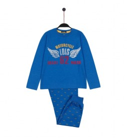 Pijama Wings azul