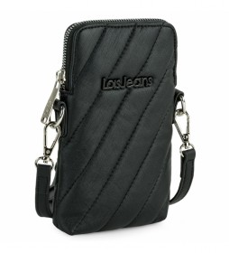 Mini bolso móvil 311121  negro -11x17x2 cm-