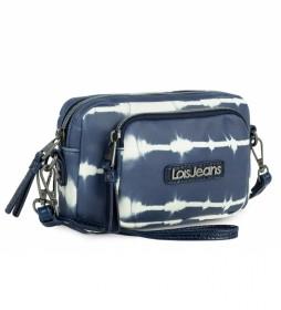 Minibolso Cartera  310825 color azul -18,5x12x4 cm-
