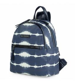 Mochila 310899 azul -27x29x12,5 cm-