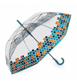 paraguas automático 13109-01 turquesa