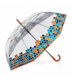 paraguas automático 13109-02 coral