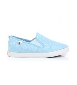 Zapatillas 61205 azul
