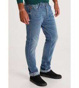 Pantalón jeans Bulling-Gollum denim azul