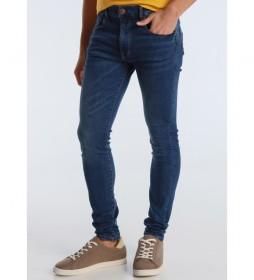 Jeans Marvin Cigarrete-Rinn azul marino