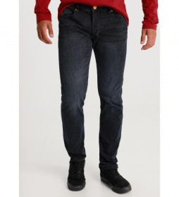Jeans Marvin Comfort Slim-Sphera azul marino