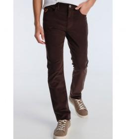 Jeans Marvin Ly-Fuensalida  marrón