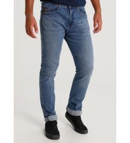 Pantalón jeans Marvin Ly-Zen Denim azul