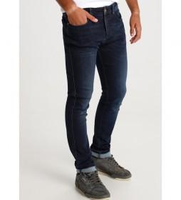 Jeans Marvin Slim-Pompeya Repreve azul marino
