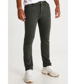 Pantalón jeans Slim Marvin verde