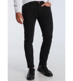 Pantalones Marvin Slim Premium-Barik  negro
