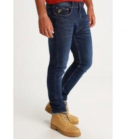Jeans  Slim Premium azul