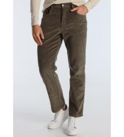 Pantalón Leg-Agora verde