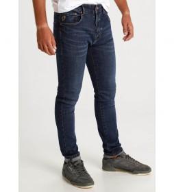 Jeans Money-Ribadeo Cross azul marino
