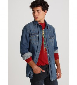 Camisa Sayer-Duke azul