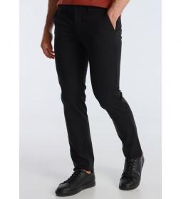 Pantalon Chino Tetuan-Greco   Basico Twill Color negro