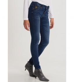 Jeans Coty Tob-Sandory azul