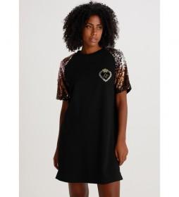Vestido Criptana-Ginebra negro