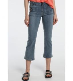 Jeans Recto -Jade-Keiko azul