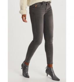 Jeans Lua Ankle-Japan  Denim gris
