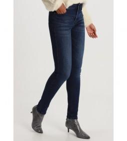 Jeans Lua Push Up-Zennet azul marino