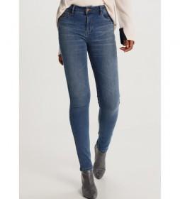 Jeans Lua Push Up-Zennet azul
