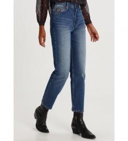 Jeans Luzia-Sintra  Mom Fit azul