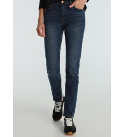 Pantalón jeans Seven-Legolas azul denim