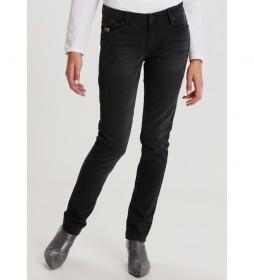 Pantalón jeans  Slimmy-Tyriona negro