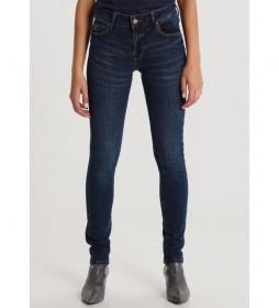 Jeans Super Coty Tob-Riba Cross azul marino