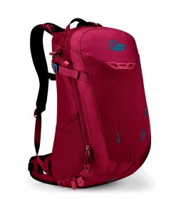 Lowe Alpine Mochila AirZone Z ND14  mujer multifunción  / berry / 0.87kg / 14L / 49x27x21cm / AirZone