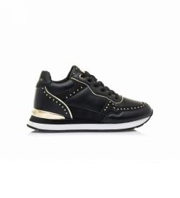 Zapatillas 63050 negro -Altura cuña: 5cm-