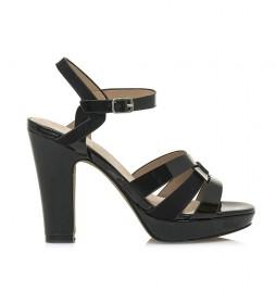 Sandalias 67358 negro -altura tacón: 11cm-