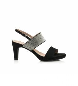 Sandalias 67503  negro -Altura tacón: 7,5 cm-