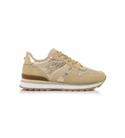 Zapatillas 68102 beige