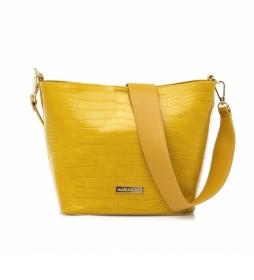 Bolso Naoki amarillo -20.5x21x13cm-