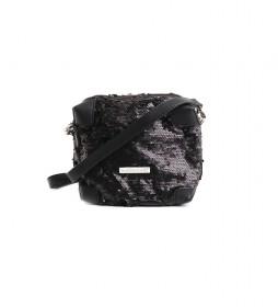 Bolso Fara Lentejuelas negro -20x18x10cm-