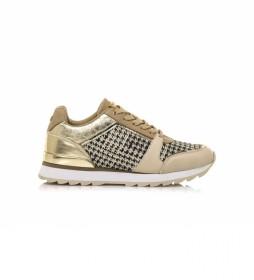 Zapatillas 62906 dorado
