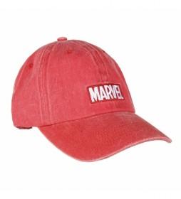 Gorra Baseball Marvel rojo