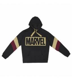 Sudadera Marvel negro