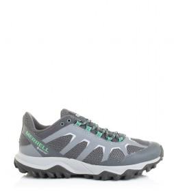 Merrell Trilho sapatos de corrida Fiery Gore -Tex cinza / 570g