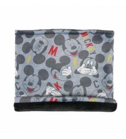 Braga cuello Mickey gris