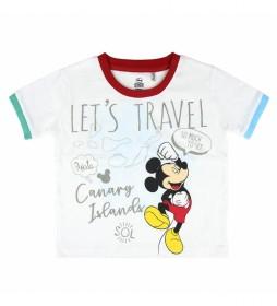 Camiseta Corta Mickey 2200004928 blanco