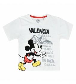 Camiseta  Single Jersey Mickey Valencia blanco