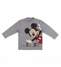 Camisetas Mickey gris