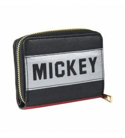 Cartera Tarjetero Polipiel Mickey -12x9x3cm-