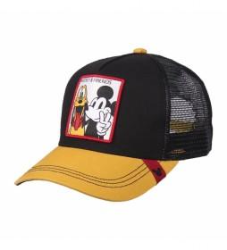 Gorra Premium Mickey negro