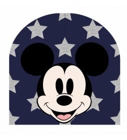 Gorro con aplicaciones Mickey marino
