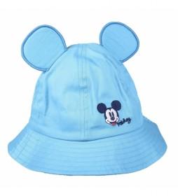 Gorro Pescador Mickey azul