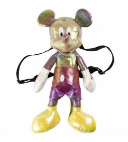 Mochila Peluche Mickey multicolor -18x40x15cm-